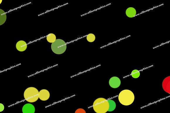 Glamour Party Lights Bokeh Texture | Stunning Photo Overlays on Black