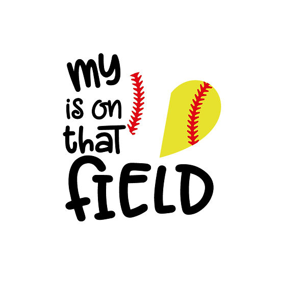 My heart is on that field  Png   Free download Iron on Transfer Funny Quotes T- Shirt Design in Png