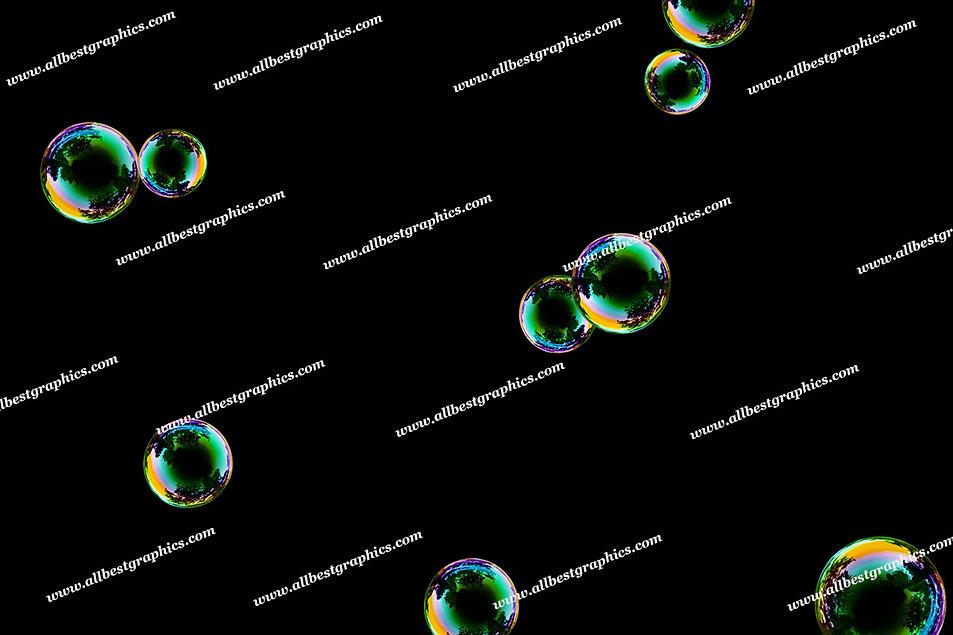 Gorgeous Bathroom Bubble Overlays | Professional Photoshop Overlay on Black
