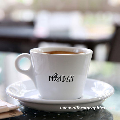 Monday | Funny Coffee Quotes for Silhouette Cameo and Cricut