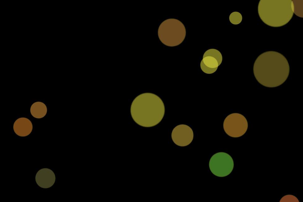 Beautiful City Light Bokeh Clip Art on black background   Free Overlays