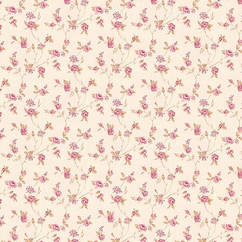 Summer floral digital paper with roses   Scrapbook Digital Paper