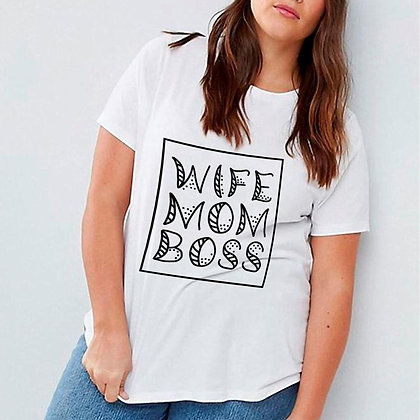 Wife Mom Boss | Mom Quotes & Signs for Silhouette Cameo and Cricut