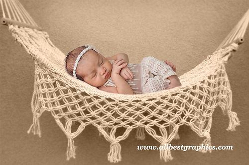 Newborn digital backdrop    Hammock with Creamy Background