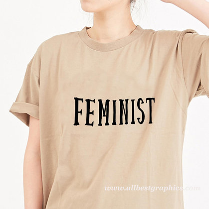 Feminist | Brainy T-Shirt Quotes Cut files in Dxf Eps Svg