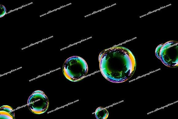 Whimsical Soap Bubble Overlays | Unbelievable Photoshop Overlay on Black