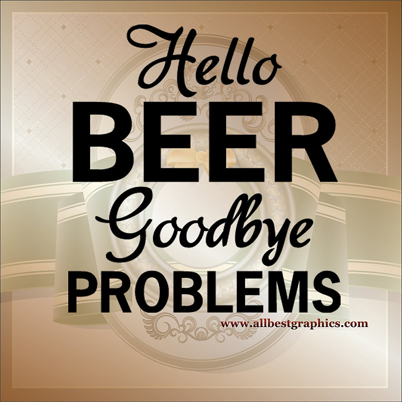 Hello beer goodbye | Funny Quotes Cut files in Eps Svg Dxf Png Pdf