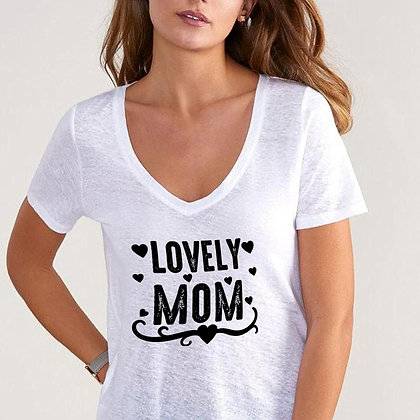 Lovely Mom | Best Mom Quotes & SignsCut files inDxf Eps Svg