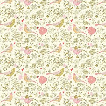 Vintage floral digital paper with peonies   Party Digital Paper