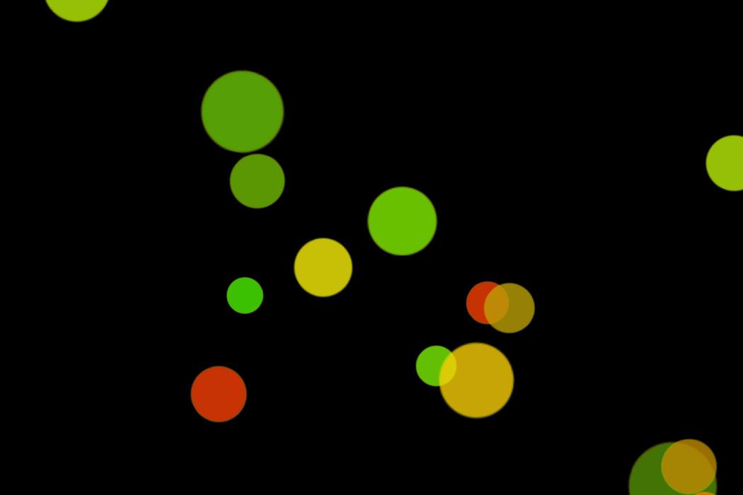 Beautiful Festival Light Bokeh Effect on black background | Freebies