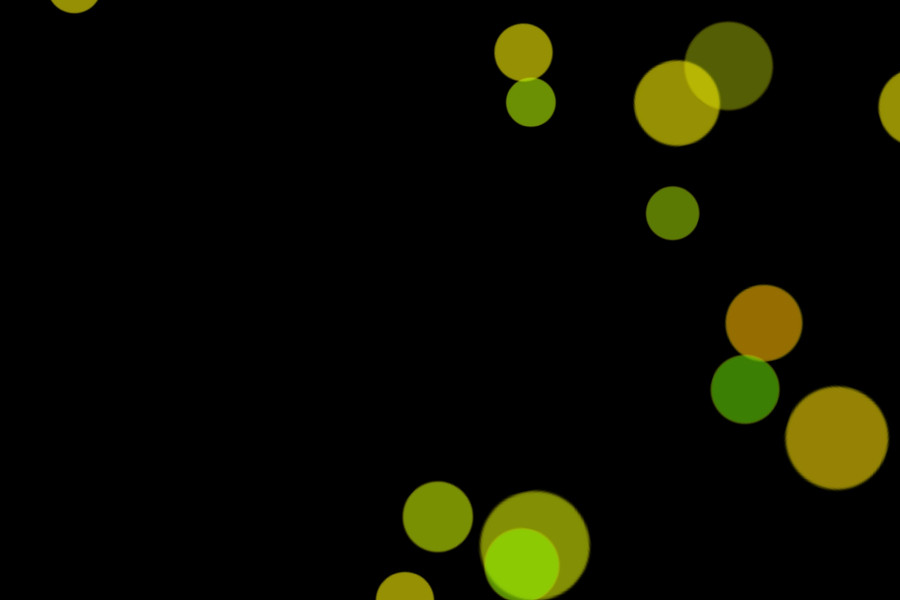 Colorful Festival Light Bokeh Clipart on black background | Freebies