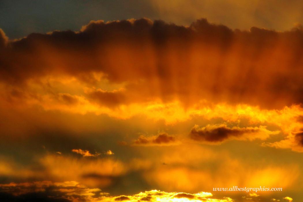 Idealistic twilight sunset background | Ps Photo Overlays