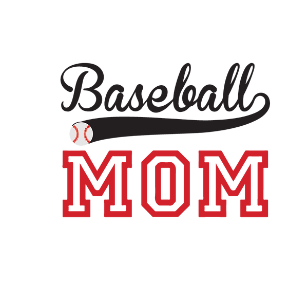 Baseball mom_2   Free download Iron on Transfer Funny Quotes T- Shirt Design in Png