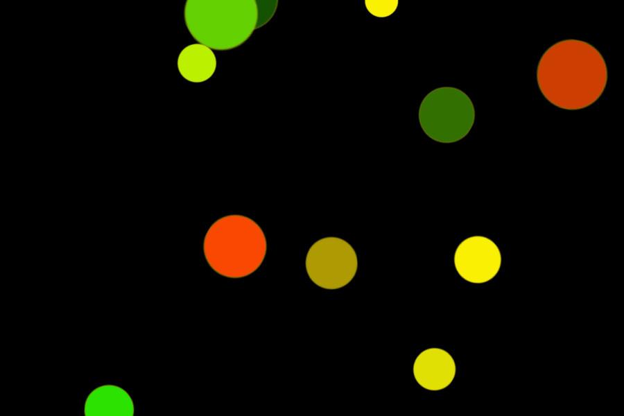 Colorful Festival Light Bokeh Effect on black background | Free Download