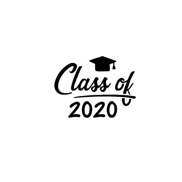 Class of 2020 | Free Printable Sassy Quotes T- Shirt Design in Png