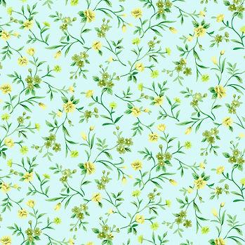 Watercolor floral digital paper with peonies   Scrapbook Paper