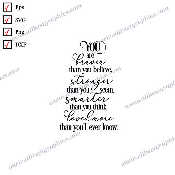 More Than You'll Ever Know | Funny Quotes Ready-to-Use Christmas Design Eps SVG