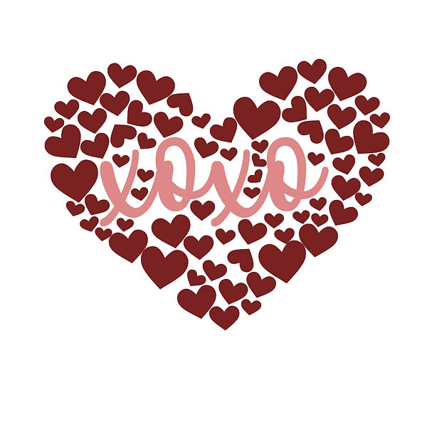 Heart with xoxo Png | Free download Printable Sarcastic Quotes T- Shirt Design in Png