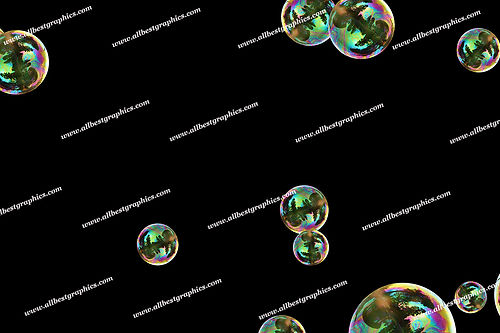 Awesome Air Bubble Overlays | Professional Photo Overlays on Black