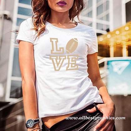 Football love  | Sarcastic T-shirt Quotes for Cricut and Silhouette Cameo