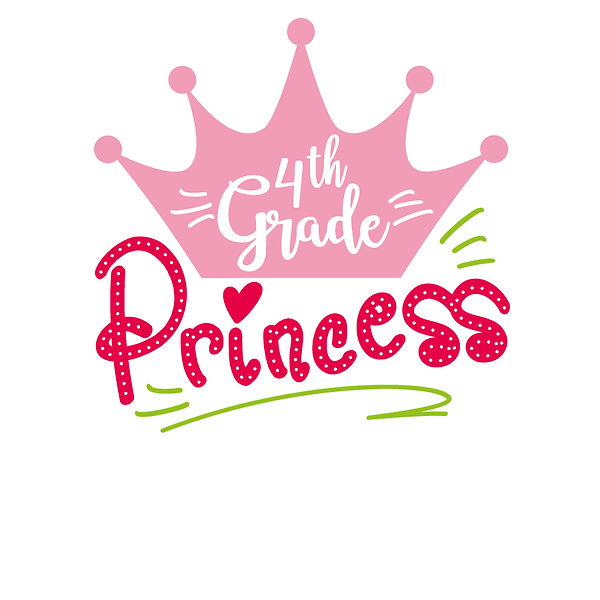 Princess grade 4th Png | Free download Iron on Transfer Sassy Quotes T- Shirt Design in Png