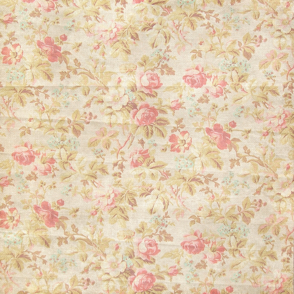 Shabby chic floral digital paper with roses and peonies | Craft Supplies & Paper