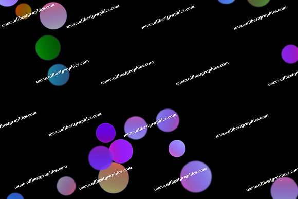 Beautiful Abstract Lights Bokeh Effect | Unbelievable Photoshop Overlay on Black