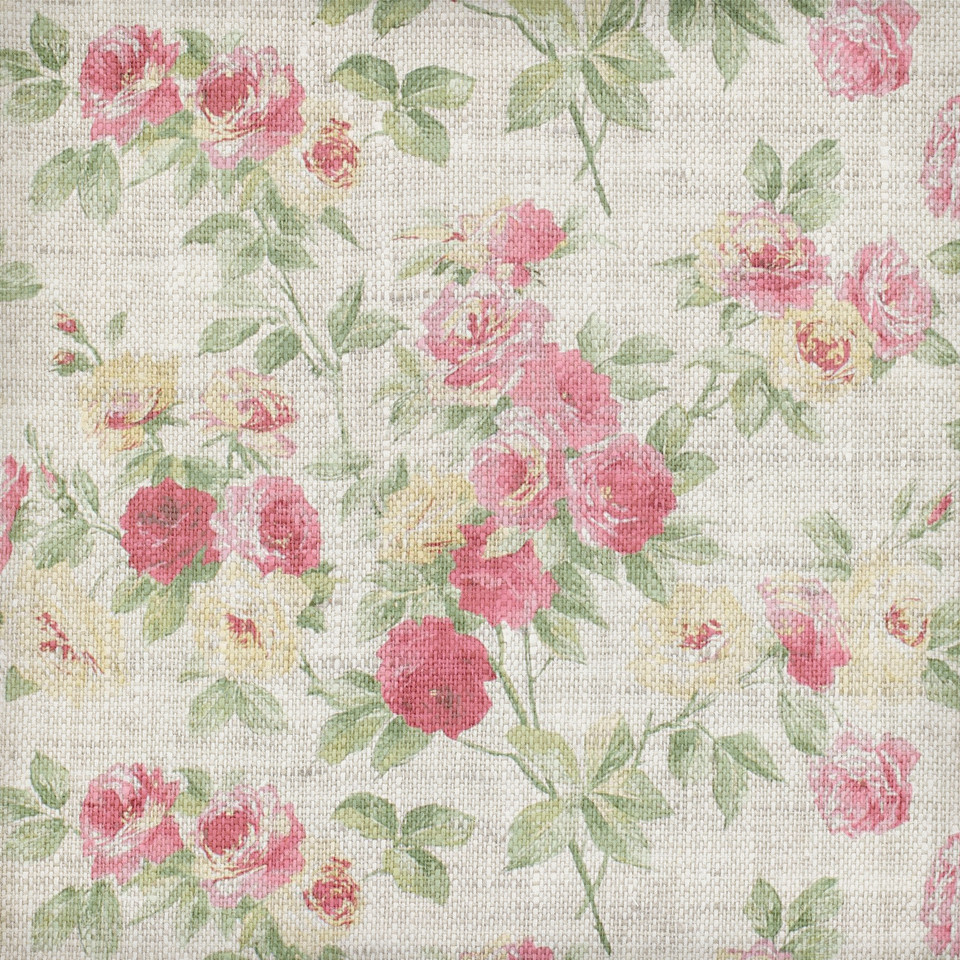 Summer floral digital paper with peonies | Textured Digital Paper