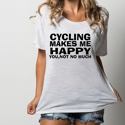 Cycling makes me | Printable Slay & Silly T-shirt Quotes for Silhouette Cameo