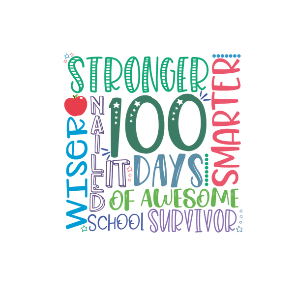 100 days stronger subway | Free Printable Sarcastic Quotes T- Shirt Design in Png