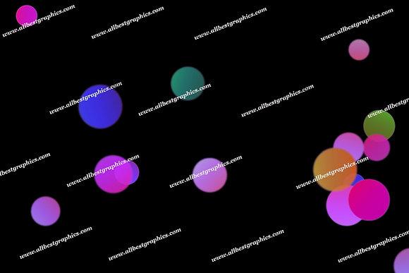 Bright Sunlight Lights Bokeh Effect   Magical Photoshop Overlays on Black