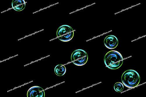 Natural Bathroom Bubble Overlays | Stunning Photoshop Overlay on Black