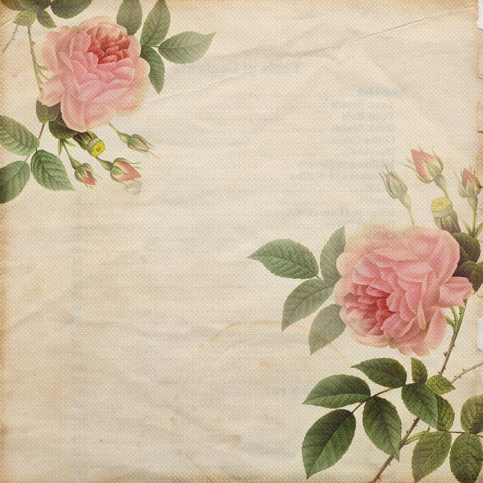 Luxurious peonies digital paper with seamless design   Invitation Digital Papers