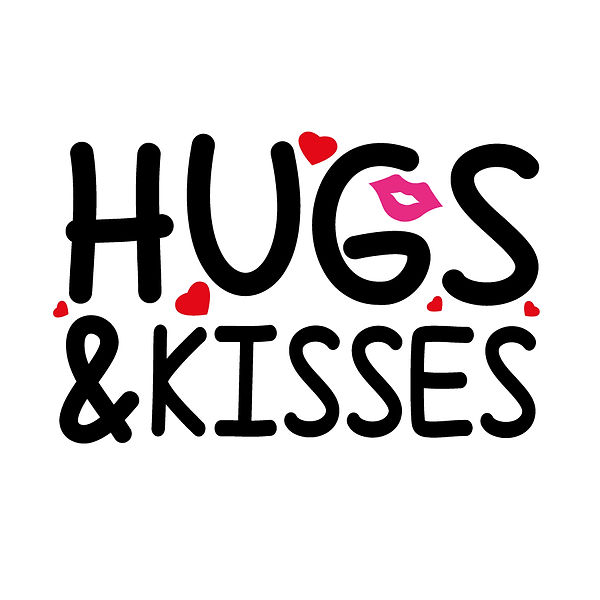 Hugs and kisses  Png | Free download Printable Cool Quotes T- Shirt Design in Png