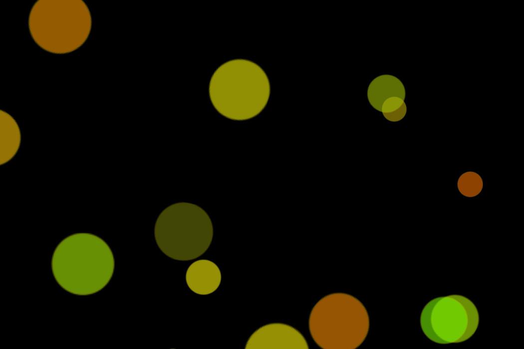 Realistic Christmas Light Bokeh Effect on black background | Freebies