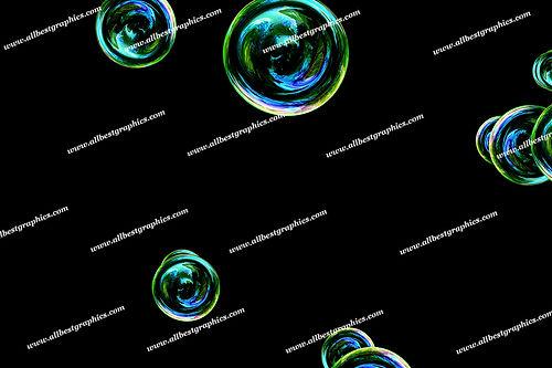 Awesome Realistic Bubble Overlays   Fantastic Photo Overlays on Black