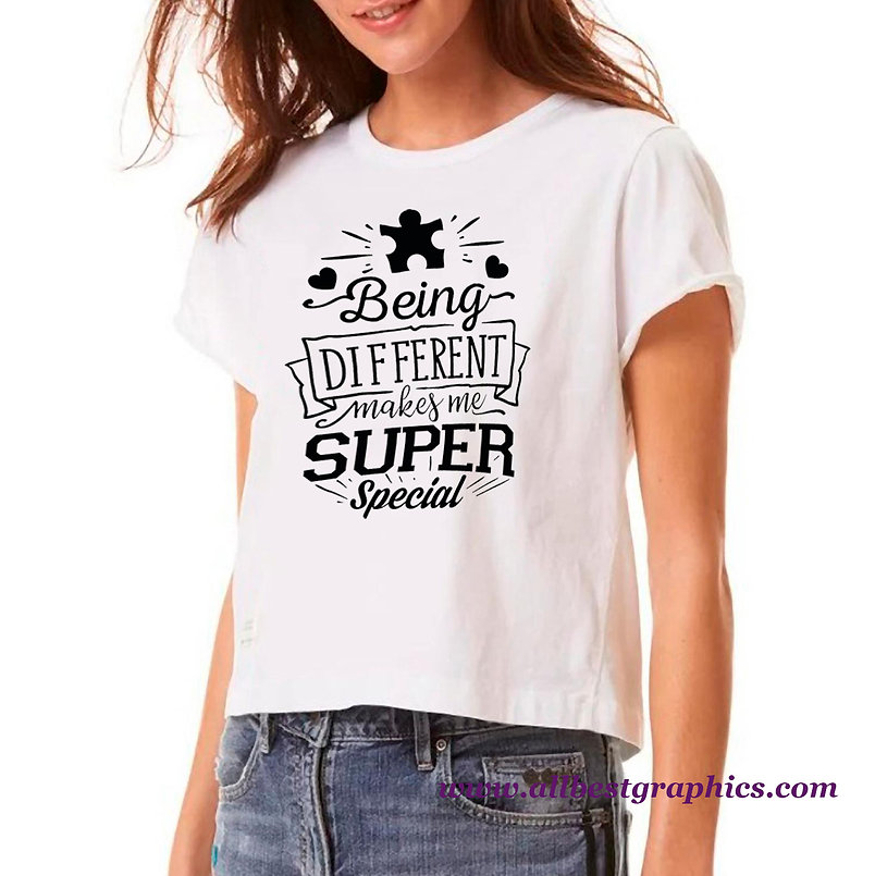 Being Different Makes Me Super | Funny Quotes & Signs for Silhouette and Cricut