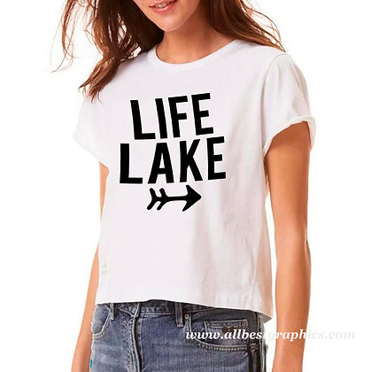 Lake life | Sassy T-shirt Quotes for Cricut and Silhouette Cameo