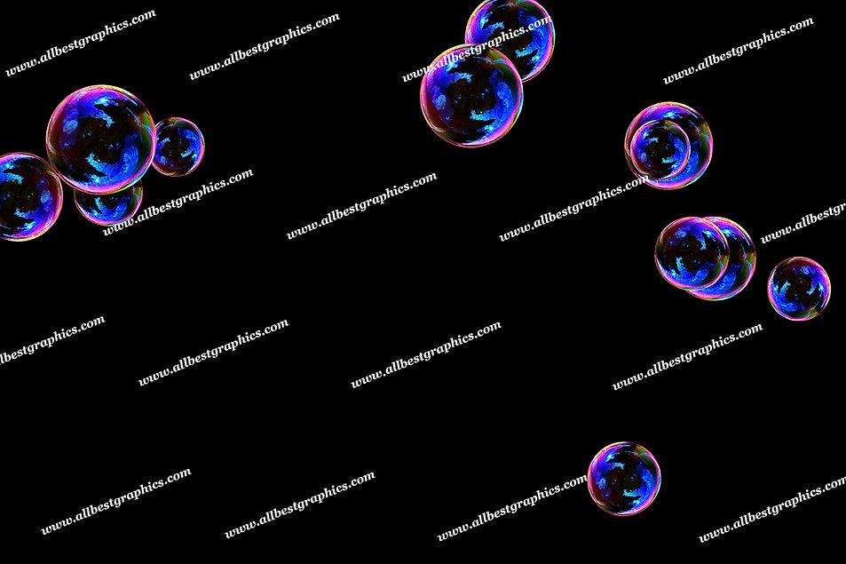 Beautiful Baby Bubble Overlays | Stunning Photoshop Overlay on Black
