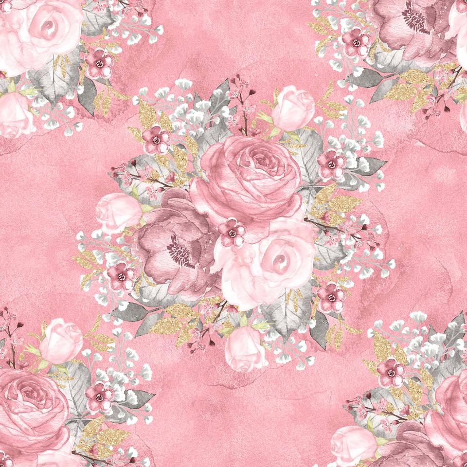 Royal watercolor digital paper with roses   Invitation Digital Paper