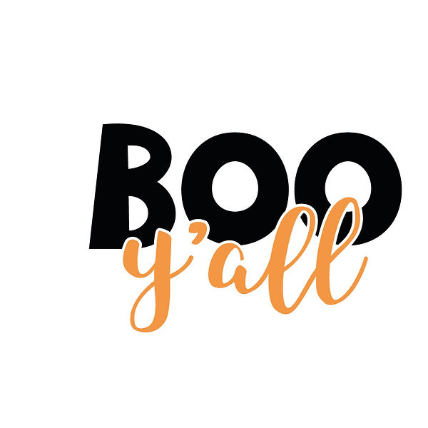 Boo y'all by  | Free Iron on Transfer Slay & Silly Quotes T- Shirt Design in Png