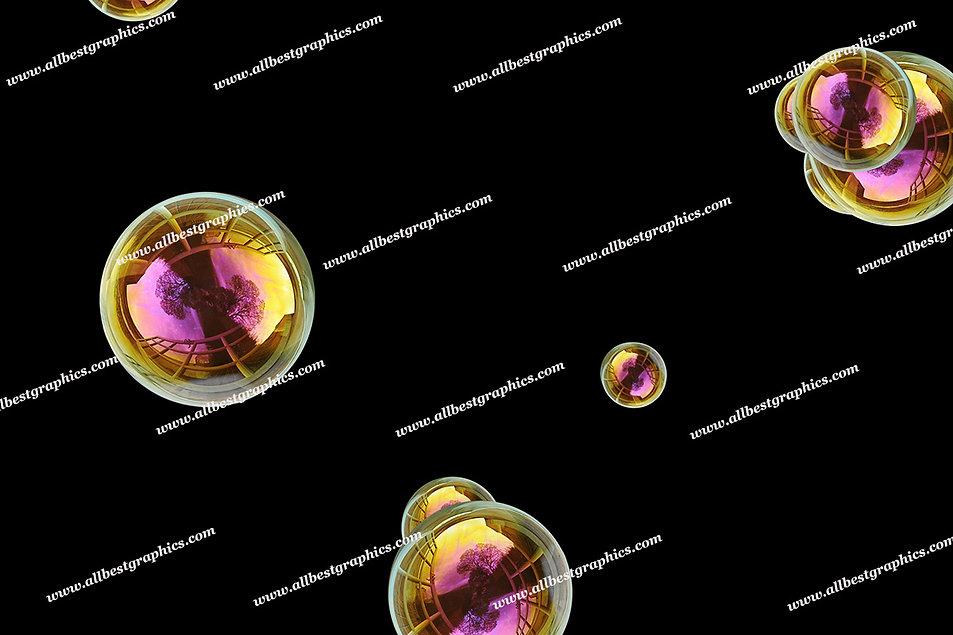 Spring Baby Bubble Overlays | Stunning Photo Overlays on Black