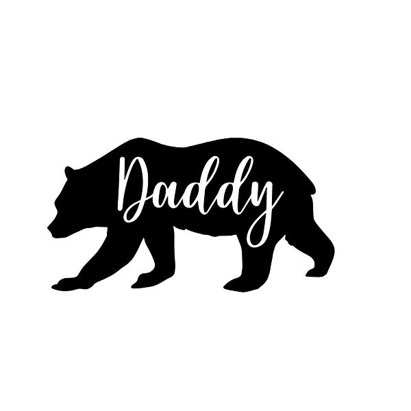 Daddy bear Png | Free download Printable Sarcastic Quotes T- Shirt Design in Png