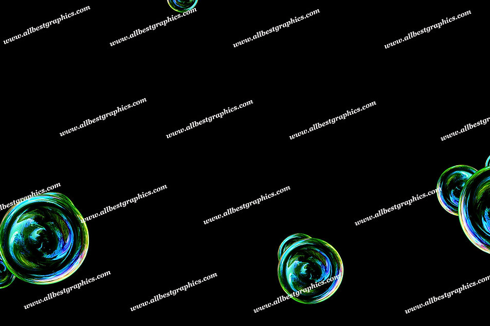 Gorgeous Realistic Bubble Overlays   Professional Photo Overlay on Black