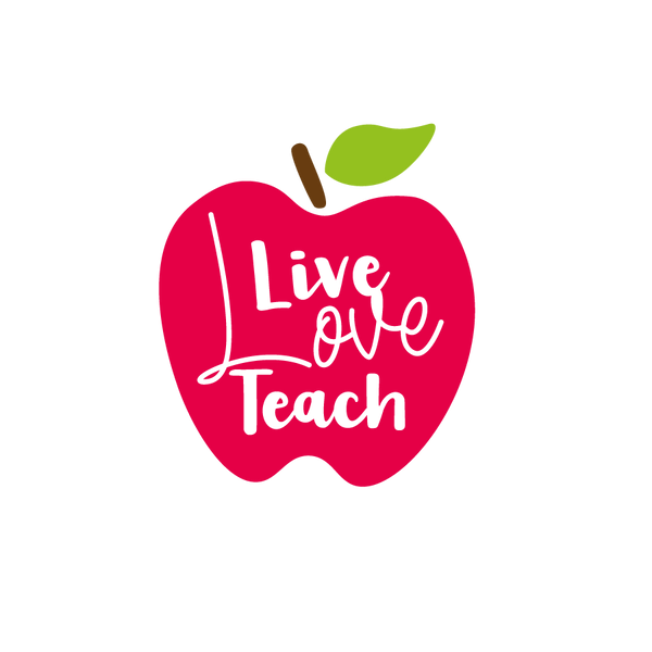 Live Love Teach | Free download Printable Cool Quotes T- Shirt Design in Png