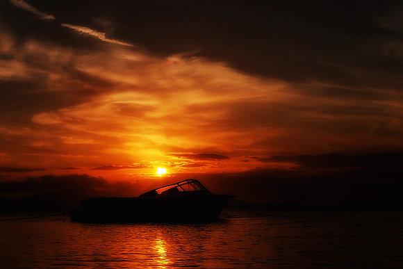 Phenomenal romantic sunset sky photoshop overlay | Florida sky background img_2712011