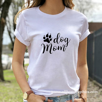 Dog Mom | Cool Quotes & Signs about Pets for Silhouette Cameo and Cricut
