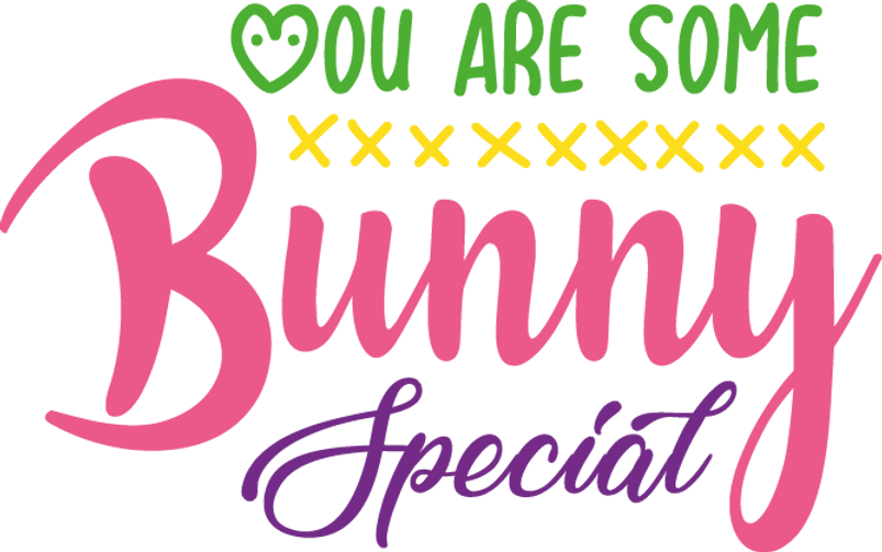 You Are Some Bunny Special | Best Easter and Bunny Quotes & Signs Cut files