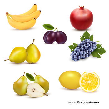 Awesome Exotic & Realistic Fresh Farm Fruits and Vegetables | Food clipart png free download