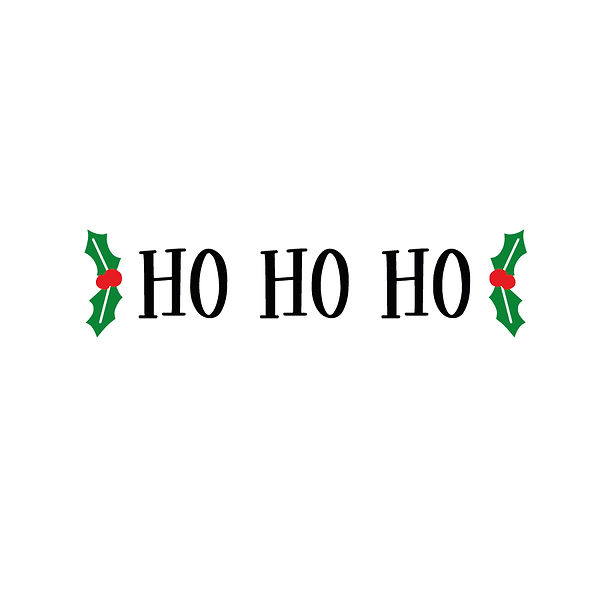 Ho ho ho Png | Free Iron on Transfer Slay & Silly Quotes T- Shirt Design in Png